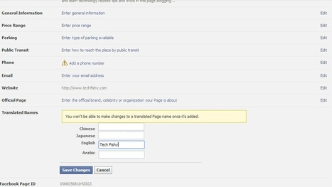 How to Change/Rename Facebook Fanpage Name after 200 + Likes 100% Working 2014 | Blogging, Alexa Facebook Tips and Tricks | Scoop.it
