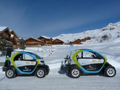 "L'Alpe d'Huez adopte l'autopartage electrique | ""green business"" 