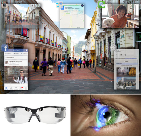 True wearable Heads Up Display developed by Innovega   Future Web   Scoop.it