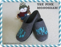 {GIVEAWAY} The Pink Monogram Clog Review & Giveaway | Special Needs Parenting | Scoop.it