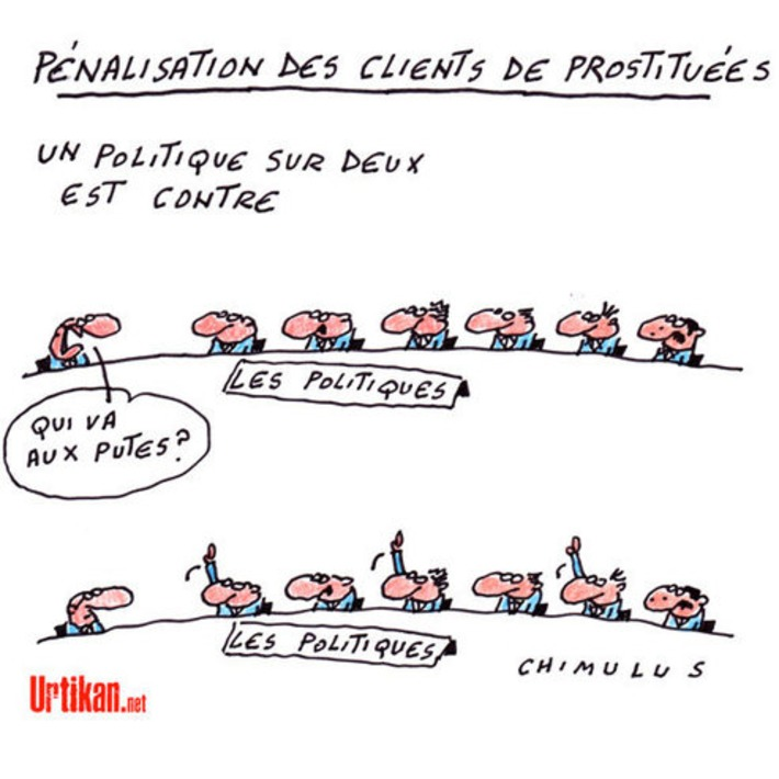 Pénalisation des clients de prostituées : la loi arrive à l'Assemblée | Baie d'humour | Scoop.it