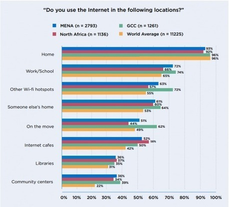 Media (R)evolutions: Attitudes and Behaviors of MENA Internet Users | Media & Technology in the Middle East | Scoop.it
