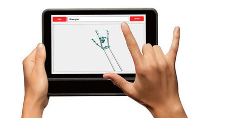 Sign Language Recognition for a Tablet | OT mTool Kit | Scoop.it