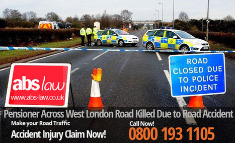 Pensioner Across West London Road Killed Due to Road Accident | My Website / Blog | Traffic Accident Claim UK | Scoop.it