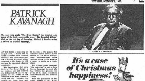 Video RTE Archives:Patrick Kavanagh Buried In Inniskeen | The Irish Literary Times | Scoop.it