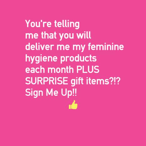 BiziBubble.com Provides Relief for Women via New Autoship Service | Subscription Services | Scoop.it