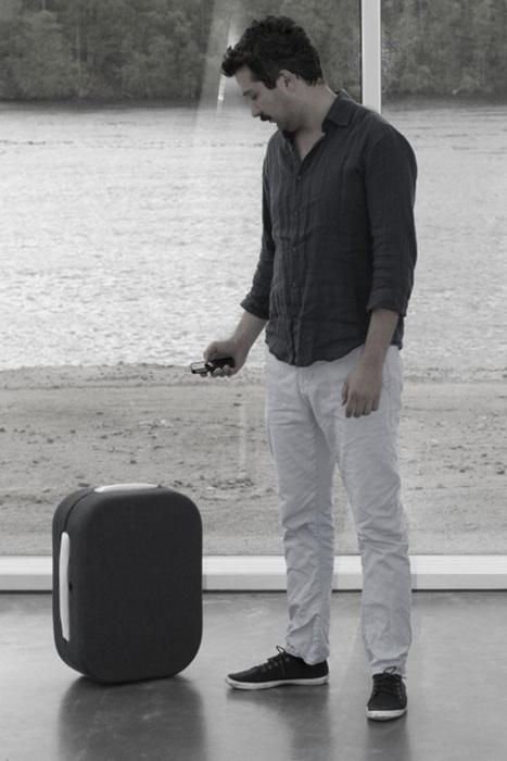 Une valise de voyage qui vous suit partout | Actualités robots et humanoïdes | Scoop.it