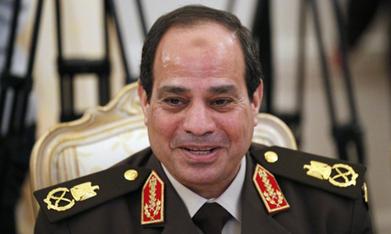 Poutine soutient la candidature d'Al-Sissi à la présidence de l'Egypte, en lui souhaitant bonne chance. | Égypt-actus | Scoop.it