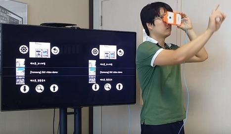 #VR Gesture Player: Controla tu Google #Cardboard con gestos #RV #RealidadVirtual   REALIDAD AUMENTADA Y ENSEÑANZA 3.0 - AUGMENTED REALITY AND TEACHING 3.0   Scoop.it