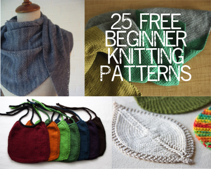 25 Free Beginner Knitting Patterns | Painting Lilies | Free knitting patterns | Scoop.it