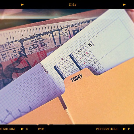 Scription Chronodex Weekly Planner 2012 | Scription | stationery | Scoop.it