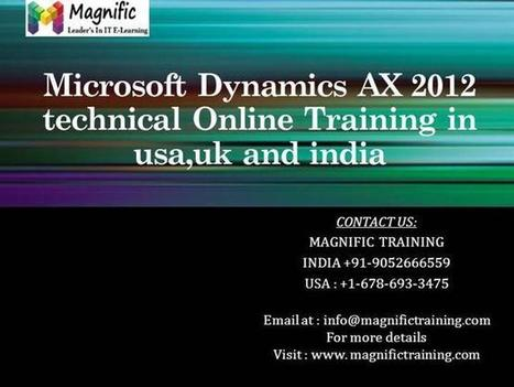 Microsoft Dynamics AX 2012 Technical Online Training in Usa,Uk And.. | onlinetraining | Scoop.it
