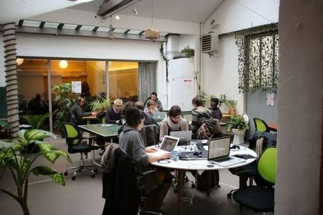 "Coworking : "" On se sent chez soi mais aussi au travail "" - L'Express 