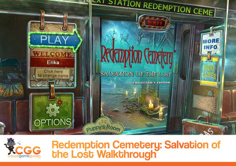 Redemption Cemetery: Salvation of the Lost Walkthrough: From CasualGameGuides.com | Casual Game Walkthroughs | Scoop.it