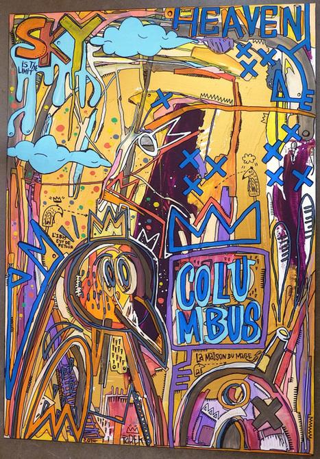 Peintures disponibles à la galerie Philippe Gelot à Paris | Tarek artwork | Scoop.it