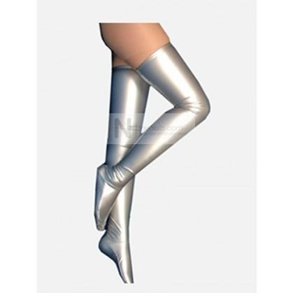 PVC Zenyai Stockings in Silver   Nefsuits   Scoop.it