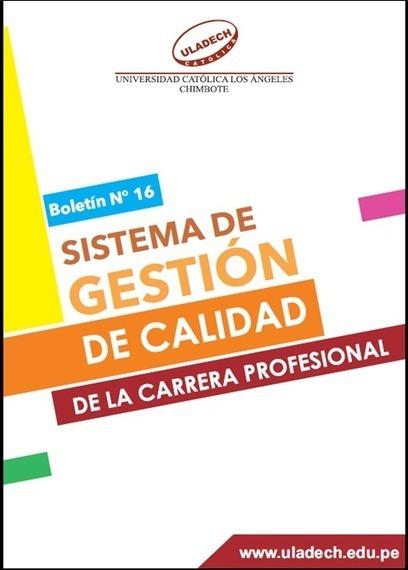 ULADECH Católica: Sistema de Gestión de Calidad de la Carrera profesional - RedDOLAC - Red de Docentes de América Latina y del Caribe - | RedDOLAC | Scoop.it