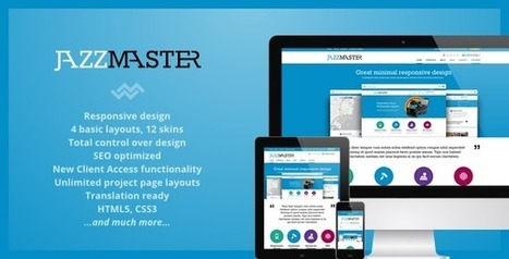 JazzMaster - Responsive Business WordPress Theme | SEO Labs | Scoop.it