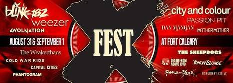 BEST WESTERN PREMIER Freeport Inn & Suites: X-FEST Brings Big-Name Bands to Fort Calgary, Aug. 31-Sept. 1 | Travel | Scoop.it