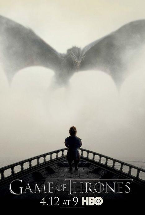 Voici l'affiche de la saison 5 de Game of Thrones | Geek or not ? | Scoop.it