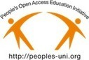 Collaboration with Peoples-uni | People's Open Access Education Initiative: Peoples-uni | Make Your Service Count! | Scoop.it