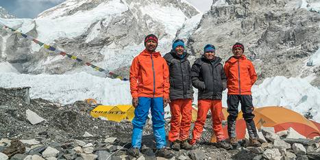 Ultimate heights - Mammut's #project360 conquers Mount Everest | Educacion, ecologia y TIC | Scoop.it