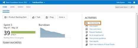 Cómo gestionar requerimientos con Scrum y TFS (parte I) | Tecnologías Microsoft | Scoop.it