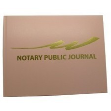 Hard Cover Notary Book - Light Pink - Notary Supplies | Office Supply Stores | Scoop.it