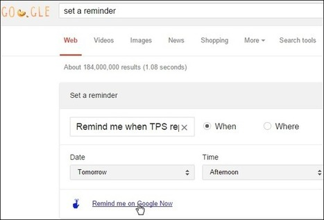 Send Google Now Web Commands to Your Android Device | Time to Learn | Scoop.it