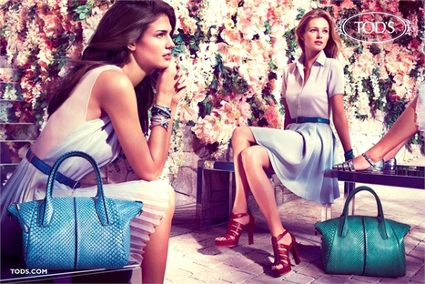 Tod's Spring Summer 2013 Advertising Campaign - Vogue.it | Stylish Fashion | Scoop.it