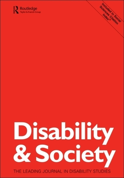 Disability and Ageing: A Virtual Special Issue | Explore Taylor & Francis Online | Vida independiente | Scoop.it