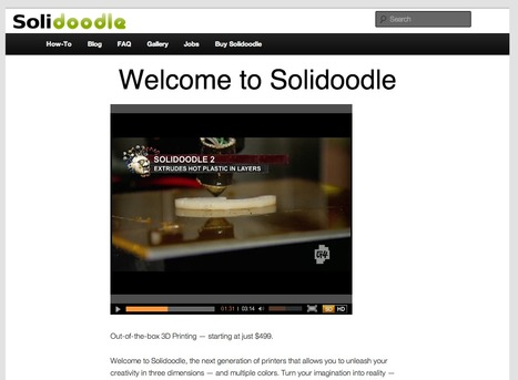 Solidoodle | Affordable, Easy-to-Use 3D Printers | Verdens Bedste Klasse (VBK) | Scoop.it