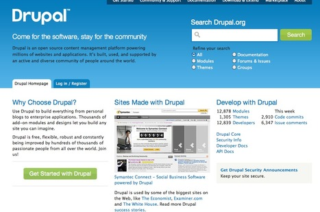 Drupal - Open Source CMS | drupal.org | Recursos | Scoop.it