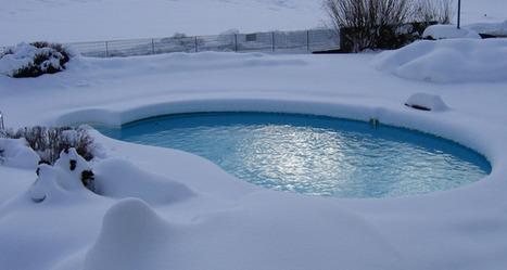 Piscine neige | Piscine de rêve | Scoop.it