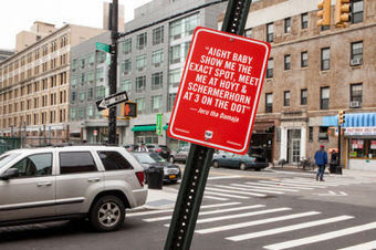 Art: 'Rap Quotes' street art project by Jay Shells | Real Hip-Hop | Scoop.it