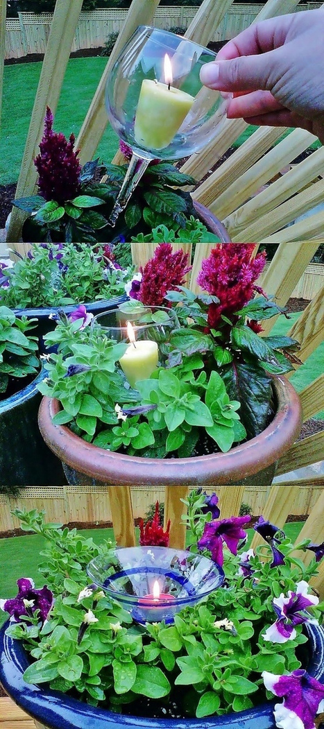 DIY 40 Ideas for Gardening with Recycled Items | DesignRulz | Gardening | Scoop.it