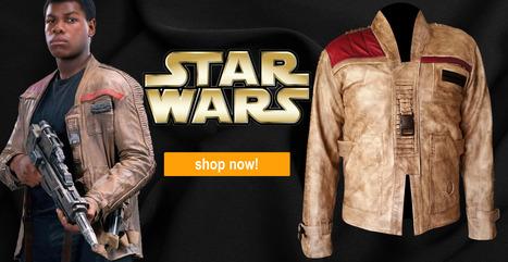 Poe Dameron Finn Jacket Star Wars   Celebsjacket.com   Scoop.it