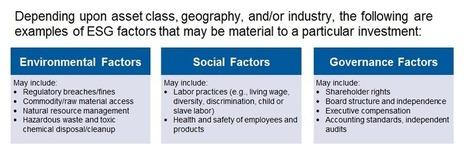 Examining Companies Through the Lens of ESG | Mark Mobius | Corporate Governance | Scoop.it
