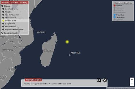 Une carte interactive des territoires contestés dans le monde | Veille cartographique 2.0 | La Longue-vue | Scoop.it