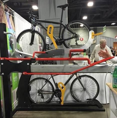 Storing bikes? The Pushbike Arc lets anyone pack'em, stack'em and rack'em | Ô bô velô ! | Scoop.it