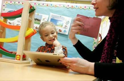 'New rage' for students with autism: iPads | iPad in the Elementary Classroom | Scoop.it