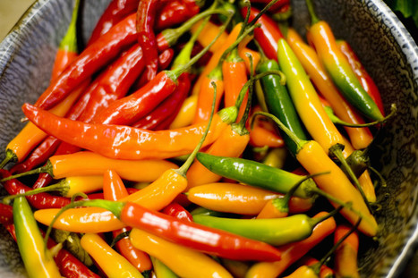Science Says Spicy Foods May Help You Live Longer | Eating Healthy Living Well | Scoop.it