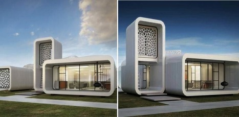 World's First 3D Printed Office Building, Complete With 3D Printed Furniture & Interior To Be Built in Dubai | Amazing Science | Scoop.it