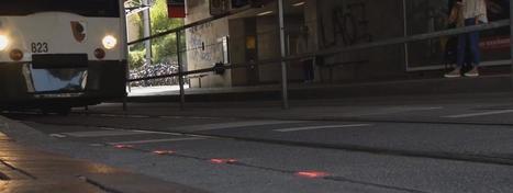 Une ville d'Allemagne installe des feux de circulation au sol pour les accros au portable | Veille pour rire ou sourire | Scoop.it