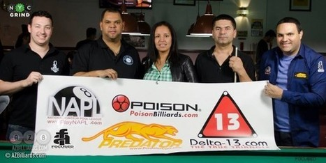 Sanchez comes back from semifinals to down Shlemperis on Predator Tour | Pool & Billiards | Scoop.it