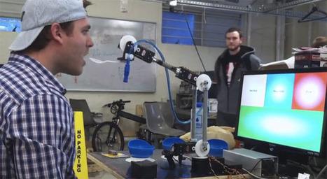 Northeastern University students develop eye controlled robotic arm | Robots and Robotics | Scoop.it