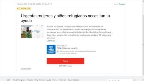 Seis euros por número de Móvil, 1,5 por E-mail: el Lucrativo Negocio de Change.org | La R-Evolución de ARMAK | Scoop.it