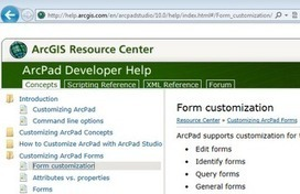 ArcPad Customization Help is now Online   GIS Móvel   Scoop.it