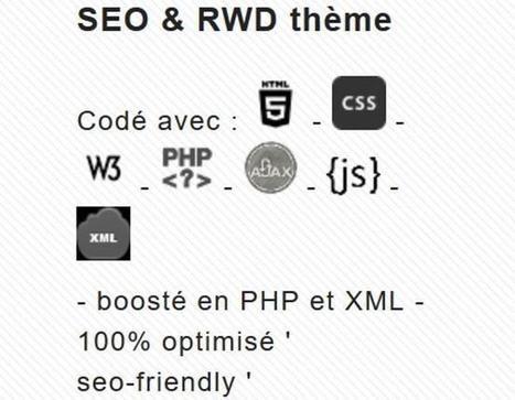 BlueSEO: thème SEO optimisé pour votre site sous PluXml | fonds d'écran gratuits | Scoop.it