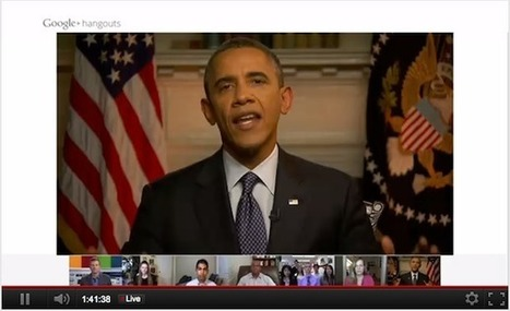 Obama's Google+ Hangout Didn't Change the Game, It Just Changed the Channel   Funteresting Stuff   Scoop.it